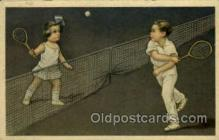 spo024657 - Tennis, Old Vintage Antique, Post Card Postcard