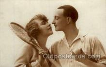 spo024659 - Tennis, Old Vintage Antique, Post Card Postcard