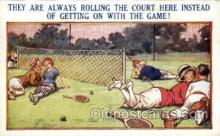 spo024660 - No. 13562 Bamforth Co., N.Y., USA Tennis, Old Vintage Antique, Post Card Postcard