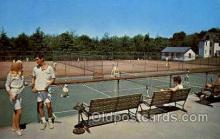 spo024662 - Concord Hotel, Kiamesha Lake, N.Y., USA Tennis, Old Vintage Antique, Post Card Postcard