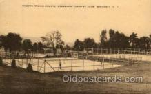 spo024699 - Berkshire Country Club, Wingdale, N.Y., USA Tennis, Old Vintage Antique, Post Card Postcard