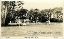 spo024702 - Crablands Park. Selsey Chichester West Sussex, UK Tennis, Old Vintage Antique, Post Card Postcard