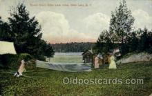 spo024713 - Otter Lake Hotel, Otter Lake, N.Y., USA Tennis, Old Vintage Antique, Post Card Postcard