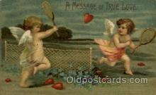 spo024716 - Tennis, Old Vintage Antique, Post Card Postcard