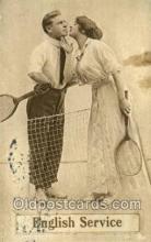 spo024731 - Tennis Old Vintage Antique Postcard Post Cards