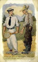 spo024732 - Tennis Old Vintage Antique Postcard Post Cards