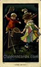 spo024733 - After the Ball Tennis Old Vintage Antique Postcard Post Cards