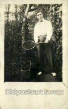 spo024736 - Tennis Old Vintage Antique Postcard Post Cards