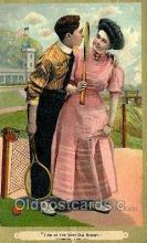 spo024738 - Tennis Old Vintage Antique Postcard Post Cards