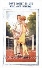 spo024745 - Tennis Old Vintage Antique Postcard Post Cards