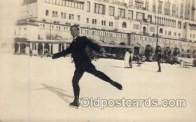 spo025036 - ice skating postcard postcards