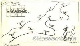 spo025050 - Ski, Skiing Postcard Postcards