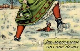 spo025092 - Winter Sports Postcard Postcards