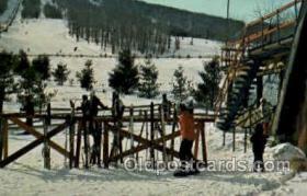 spo025114 - Elk Mountain Pennsylvania, , USA, Snow Skiing Postcard Postcards