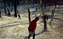 spo025115 - Mount Royal, Montreal, Canada, Snow Skiing Postcard Postcards