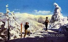 spo025116 - Adirondack Mountains, Snow Skiing Postcard Postcards