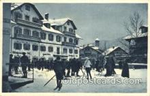 spo025161 - Oberammergua Winter Sports Postcard Postcards