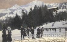 spo025181 - Winter Sports Postcard Postcards
