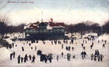 spo025182 - Lincoln Park, Chicago, USA Ice Skating, Skiing, Winter Sports Postcard Postcards