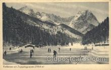 spo025184 - Ice Skating, Skiing, Winter Sports Postcard Postcards