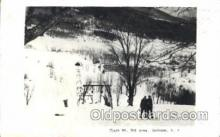 spo025206 - Black Mountain, Jackson, N.H. USA Ice Skating, Skiing, Winter Sports Postcard Postcards