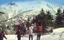 spo025239 - Skiers at Mountain Summit Ski Sking Postcard Post Cards