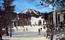 spo025246 - Mammoth Lakes, California, USA Ski Sking Postcard Post Cards