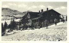spo025256 - Knutehytta Menela Ski Sking Postcard Post Cards