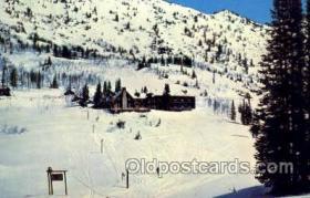 spo025266 - Alta, Lodge, Alta, Utah, USA Ski Sking Postcard Post Cards