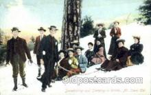 spo025270 - Mt. Lowe, California, USA Ski Sking Postcard Post Cards