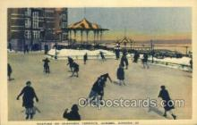 Skating on dufferin Terrace Quebec Canada USA