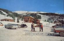 spo025319 - Big Mountain Ski Resort, Whitefish, MT USA Ski, Skiing Postcard Post Card Old Vintage Antique