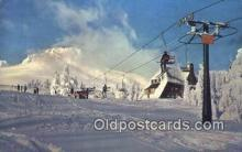 spo025336 - Mount Hood, OR USA Ski, Skiing Postcard Post Card Old Vintage Antique