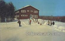 spo025343 - Snowbird Lodge, Harrison, ME USA Ski, Skiing Postcard Post Card Old Vintage Antique