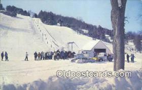 spo025355 - Mt Tom, Woodstock, VT USA Ski, Skiing Postcard Post Card Old Vintage Antique