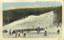 spo025358 - Open Slope, MT Sunapee State Park, NH USA Ski, Skiing Postcard Post Card Old Vintage Antique