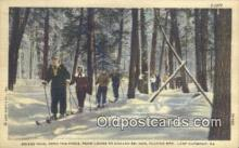 spo025367 - Hazard Ski Run, Lake Harmony, PA USA Ski, Skiing Postcard Post Card Old Vintage Antique