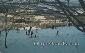 spo025370 - Elk Mountain Ski, Skiing Postcard Post Card Old Vintage Antique