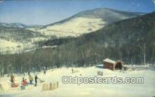 spo025375 - Jimmy Peak, Hancock, MA USA Ski, Skiing Postcard Post Card Old Vintage Antique