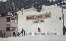 spo025376 - Squaw Valley, CA USA Ski, Skiing Postcard Post Card Old Vintage Antique