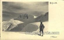 spo025379 - Ski, Skiing Postcard Post Card Old Vintage Antique