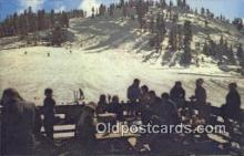 spo025399 - China Peak Ski Resort, Huntington Lake, Fresno, CA USA Ski, Skiing Postcard Post Card Old Vintage Antique
