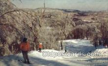 spo025409 - Canyon Run At Mount Snow, Wilmington, VT USA Ski, Skiing Postcard Post Card Old Vintage Antique