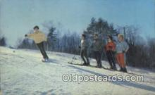 spo025410 - NH, USA Ski, Skiing Postcard Post Card Old Vintage Antique