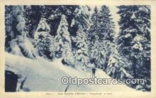 spo025418 - Les Sports D Hiver Ski, Skiing Postcard Post Card Old Vintage Antique