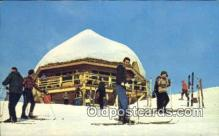 spo025424 - MT Alyeska, AK USA Ski, Skiing Postcard Post Card Old Vintage Antique