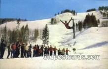 spo025427 - Stein Eriksen, Aspen, CO USA Ski, Skiing Postcard Post Card Old Vintage Antique