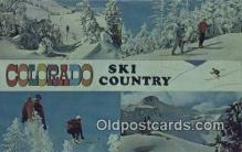 spo025435 - Ski Country, CO USA Ski, Skiing Postcard Post Card Old Vintage Antique