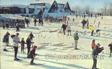 spo025440 - Summit Chalet, Indian Head Mountain, Bessemer, MI USA Ski, Skiing Postcard Post Card Old Vintage Antique