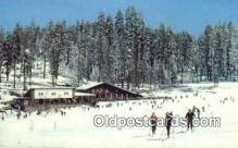 spo025452 - Badger Pass Ski House, Yosemite National Park, CA USA Ski, Skiing Postcard Post Card Old Vintage Antique
